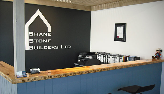 Shane Stone Builders Reception