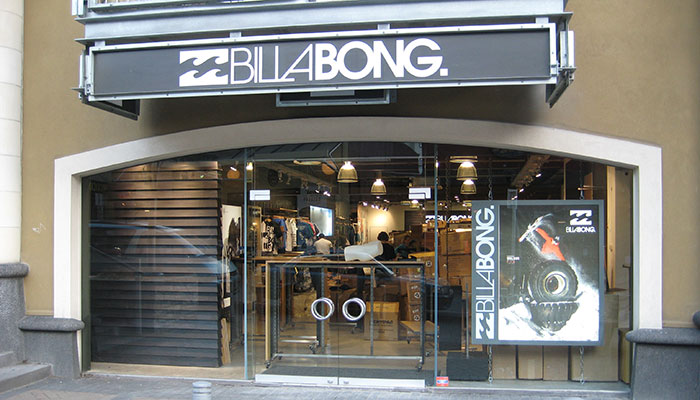 Billabong Fit Out