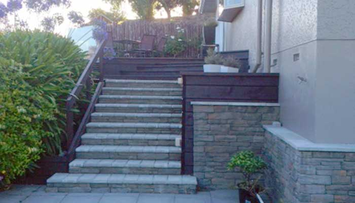 Deck and Steps 6