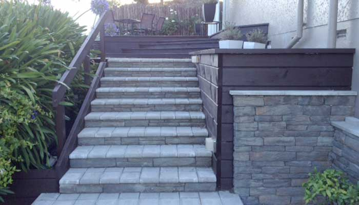 Deck and Steps 7